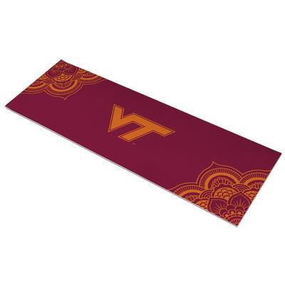 Virginia Tech VT Logo Yoga Mat