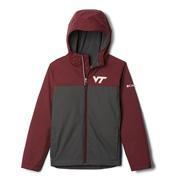 Virginia Tech Columbia Youth Zilla Rain Jacket