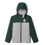 Michigan State Columbia Youth Zilla Rain Jacket