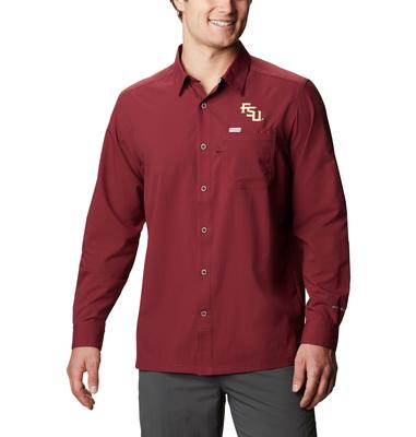 Florida State Columbia Men's CLG Slack Tide Long Sleeve Shirt