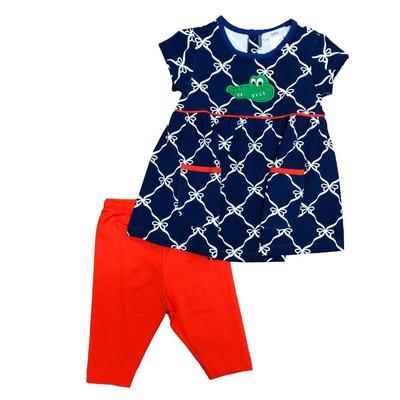 Ishtex Toddler Short Sleeve Tee & Capri Pant Set
