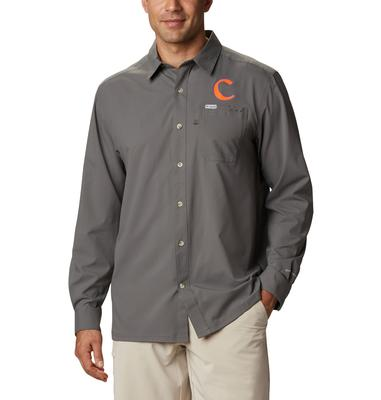 Clemson Columbia Men's CLG Slack Tide Long Sleeve Shirt