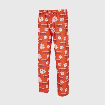 Clemson Zest Soft Knit Lounge Pant