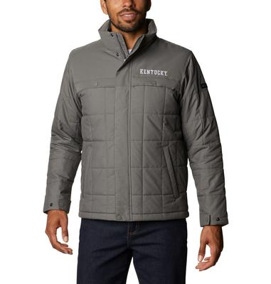 Kentucky Columbia Men's CLG Ridgestone Quilted Jacket