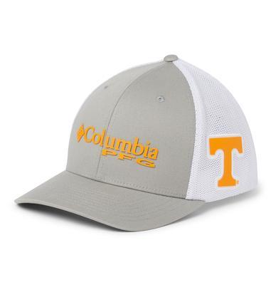 Tennessee Columbia PFG Mesh Flex Fit Hat