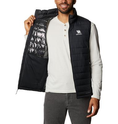 Kentucky Columbia Men's CLG Powder Lite Vest