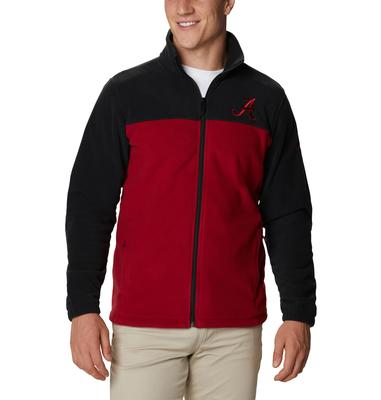 Alabama Columbia Men's Flanker III Fleece Jacket - Tall Sizing