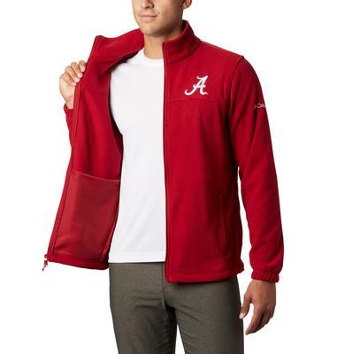 Alabama Columbia Men's Flanker III Fleece Jacket - Big Sizing