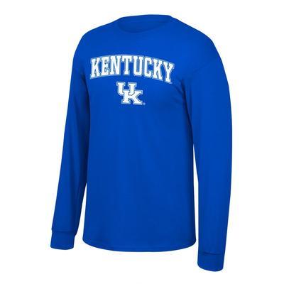 Kentucky Arch Logo Long Sleeve Tee ROYAL