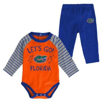 Florida Gen2 Infant Touchdown Long Sleeve Creeper & Pant Set