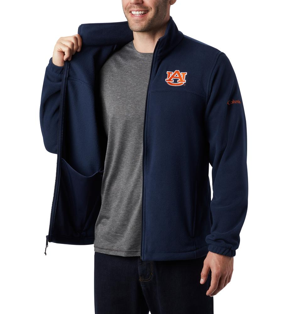 Auburn Columbia Men's Flanker Iii Fleece Jacket - Tall Sizing
