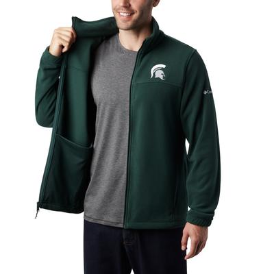 Michigan State Columbia Men's Flanker III Fleece Jacket - Big Sizing