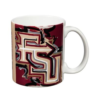 Florida State 11 Oz Justin Patten Artwork Mug