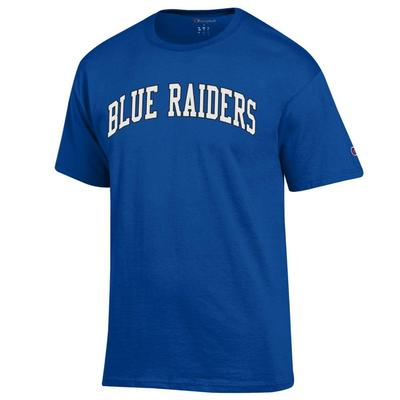 MTSU Champion Men's Blue Raiders Arch Tee Shirt