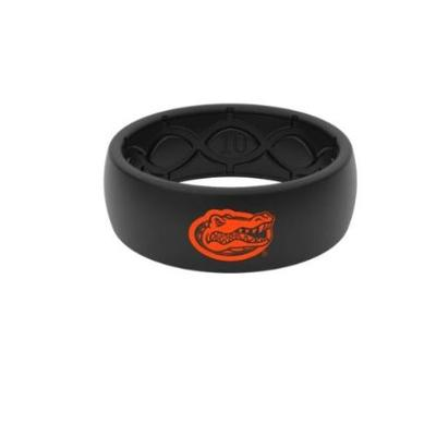 Florida Groove Life Black Silicone Ring