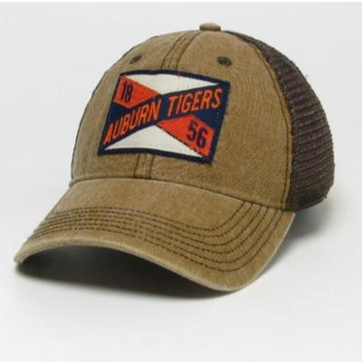 Auburn Legacy Frayed X Patch Trucker Hat