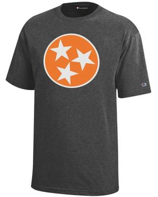 Tennessee Champion YOUTH Tri Star Tee Shirt
