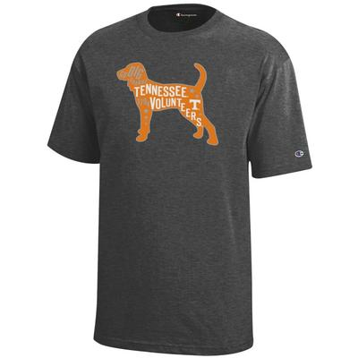 Tennessee Champion YOUTH Smokey Poster Tee Shirt