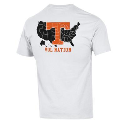 Tennessee Champion Men's Vol Nation Tee Shirt