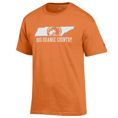 Tennessee Champion Men's Big Orange Country Tee Shirt