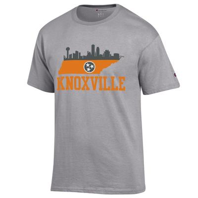 Tennessee Champion Men's Knoxville Skyline Tee Shirt