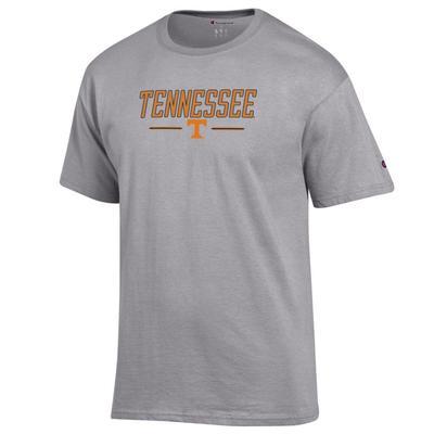 Tennessee Champion Men's Bar Logo Tee Shirt