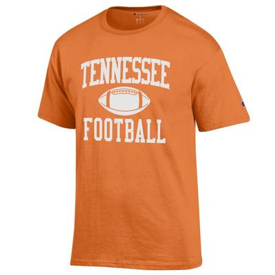 Tennessee Champion Men's Basic Football Tee Shirt