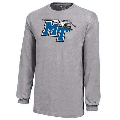 MTSU Champion YOUTH Jersey Long Sleeve Tee