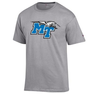 MTSU Champion Men's Giant Logo Tee Shirt