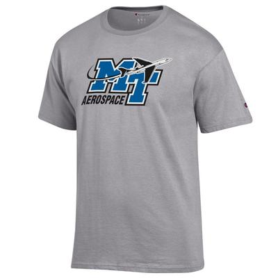 MTSU Champion Men's Aerospace Logo Tee Shirt