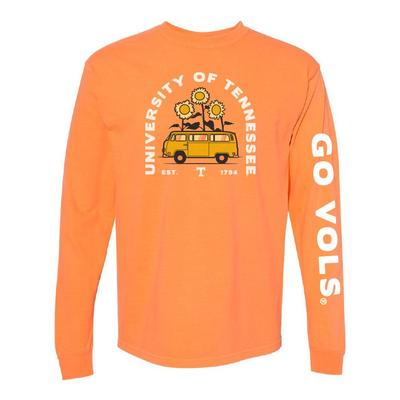 Tennessee Comfort Colors Bus Long Sleeve Tee