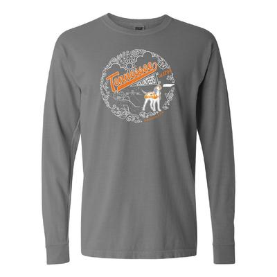 Tennessee Comfort Colors Iconic Script Long Sleeve Tee