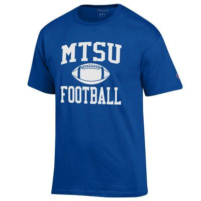 MTSU Champion Men's Basic Football Tee Shirt
