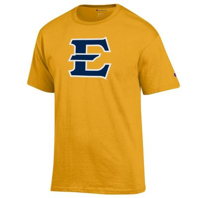 ETSU Champion Giant Logo Tee Shirt