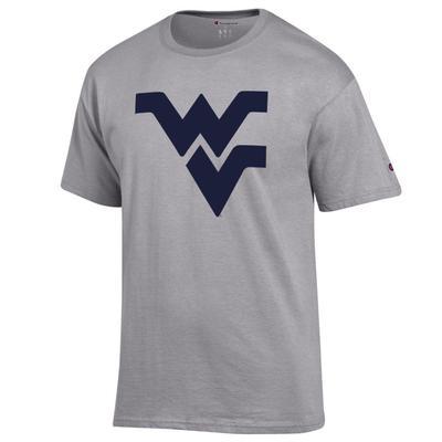 West Virginia Champion Men's Giant Logo Tee Shirt