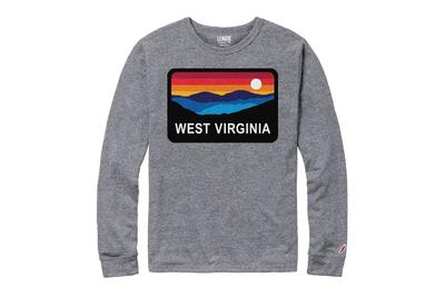 West Virginia Horizon Long Sleeve Shirt