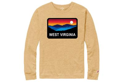 West Virginia Horizon Long Sleeve Shirt
