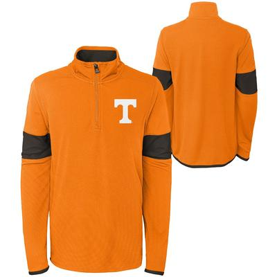 Tennessee YOUTH Field Poly Mesh 1/4 Zip Pullover