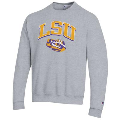 LSU Champion Arch Fleece Crew