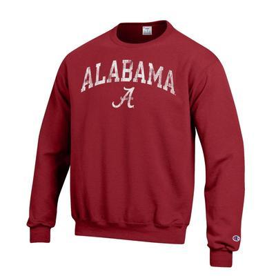 Alabama Champion Arch Fleece Crew