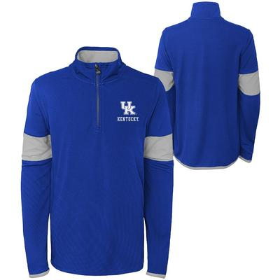 Kentucky YOUTH Field Poly Mesh 1/4 Zip Pullover