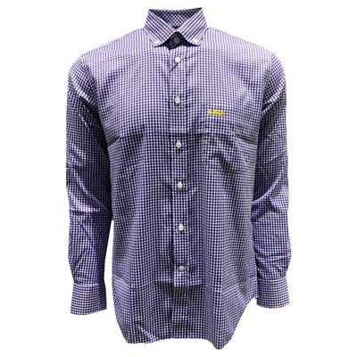 LSU Pennington and Bailes Stretch Gingham Long Sleeve