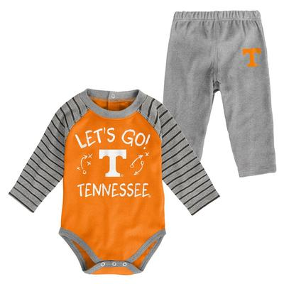 Tennessee Infant Touchdown Creeper Pant Set