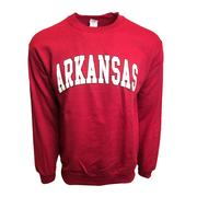 Arkansas Arch Logo Crew Sweatshirt