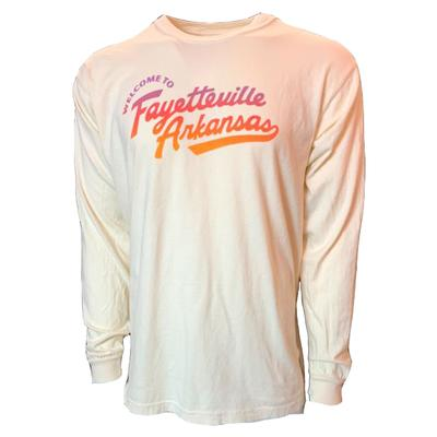 B Unlimited Welcome to Fayetteville Comfort Colors Long Sleeve