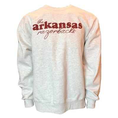 Arkansas B Unlimited Script Sooie Sweatshirt