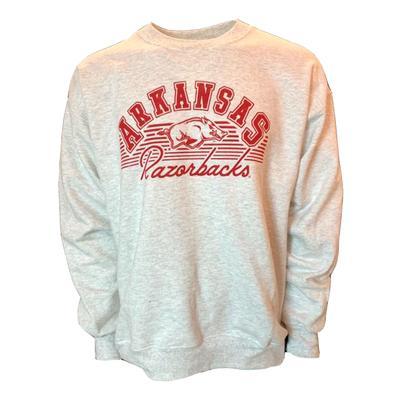 Arkansas B Unlimited Hit That Line Crew Neck Sweatshirt
