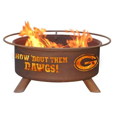 Georgia Bulldogs Fire Pit