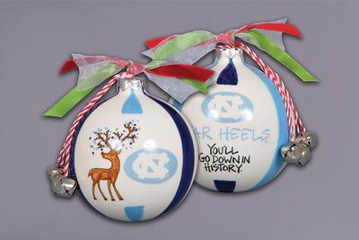 UNC Magnolia Lane Reindeer Ornament