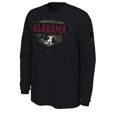 Alabama Nike 2020 Veterans Day Long Sleeve Tee
